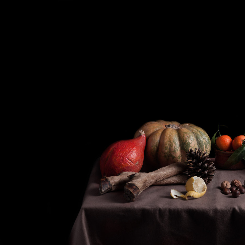 © Charles Roux - Still life of autumn products