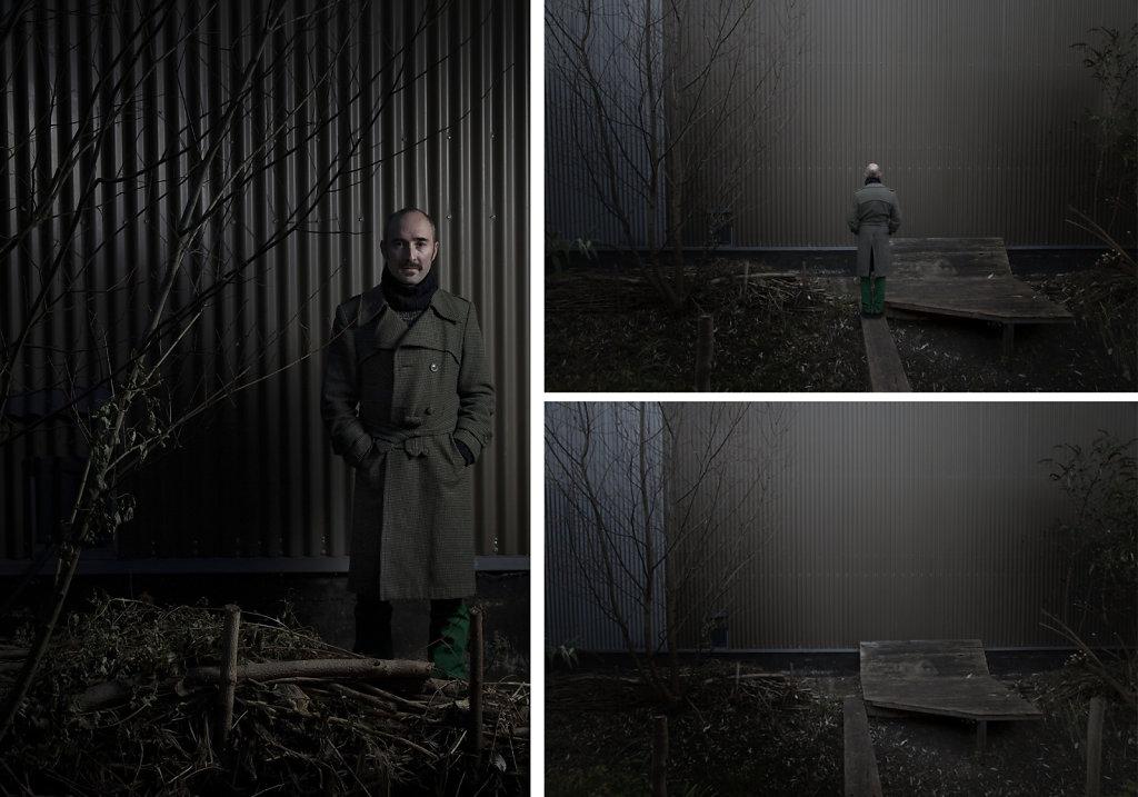 © Charles Roux - Portrait of Jean-Michel Susini